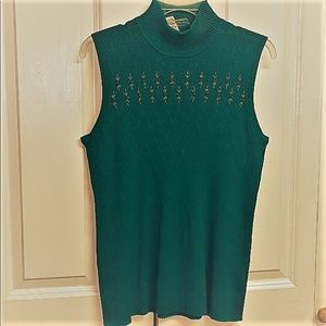 Requirements Sweater Size XL Peacock New